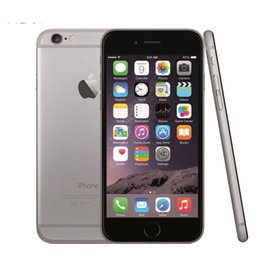 Wholesale Dual Core Iphone - Original Refurbished Unlocked Iphone 6 Iphone 6Plus Without Fingerprint Function 16G 64G 128G 8.0MP Camera Smart Phone