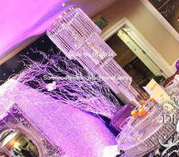 Wholesale Party Goods Manufacturers - Most popular good quality crystal wedding flower stand manufacturer sale