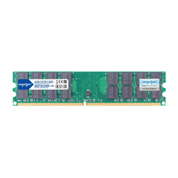Wholesale desktop amd - Free Shipping 1Pcs Lot DDR2 4G 800 RAM Desktop Computer Memory DIMM 4GB 800MHz for AMD PC Computer Motherboard