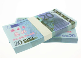 Wholesale Fake Factory - EUR20 for props and Education bank staff training paper fake money copy money children gift factory direct