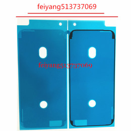Wholesale Touch Screen Housing - 10pcs Waterproof Adhesive Glue Tape Sticker Front Housing LCD Touch Screen Display Frame For iPhone 7   7 plus