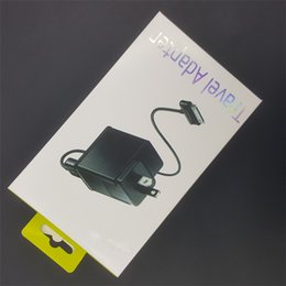 Wholesale Tab Uk - For tablet PC charger set EU US UK plug adapter charging wall chargers 1m usb date syne cable line for samsung galaxy tab P1000 P7500 SALE