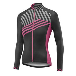 Wholesale Liv Clothes - pro team LIV Women\'s Cycling Jerseys bike Mountain Long Sleeve shirt Bicycle Jersey Cycling Clothing spring autumn Cycling wear D1108