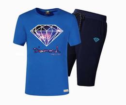 Camisa de diamante nova chegada on-line-RV66436 Frete grátis New Arrival hip hop Diamante terno de Negócios Mens t camisas tees colorido estilo carta