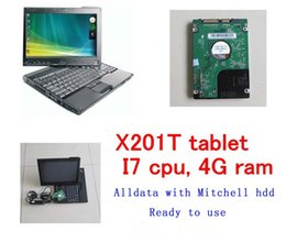 Wholesale French Programs - 2017 alldata 10.53 with Mitchell 5.8 2015 software workshop car repair program 1TB HDD installed on x201t laptop ready to work