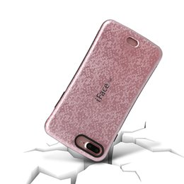 Wholesale protect mobile phone - iface armor TPU PC 2in1 hybrid protect Case mobile cell phone cover For iphone7 6s samsung Huawei LG shine luxury US1