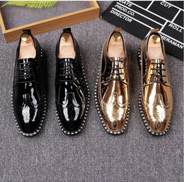 Wholesale Office England - 2017 New style England Trend Casual Leisure Shoes men loafers Top quality Genuine leather comfortable handsome brand men flats Z261