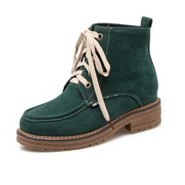Wholesale High Ankle Boots Price - Wholesale- Plus size high quality 2016 autumn boots Martin boots female casual low-price brand winter boots