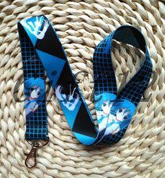 Wholesale Hatsune Miku Keychain - New Cartoon MIKU Hatsune Cell Phone Straps Cartoon Action Mobile Phone Lanyard Keychain S--52
