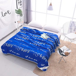 Wholesale Summer air conditioning quilt Space children summer cool washable Single double summer quilt Down to the core spring and autumn thin