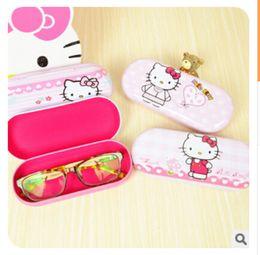 Wholesale Multipurpose Storage Box - Wholesale- Kawaii Hello Kitty Pencil Cases Glasses Case Pencil Box Multipurpose Storage Box