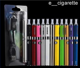 Wholesale E Cigs Starter Kits - EVOD MT3 Blister kit single kits eGo starter kits e cigs cigarettes 650mah 900mah 1100mah evod batteries MT3 atomizer in stock