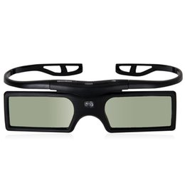 Wholesale Vivitek Projector Dlp - Wholesale-MAHA 3D Glasses for DLP-Link projector Beamer OPTOMA GT750 GT360 HD20 HD21 Benq Viewsonic Acer Dell Vivitek Sharp NEC