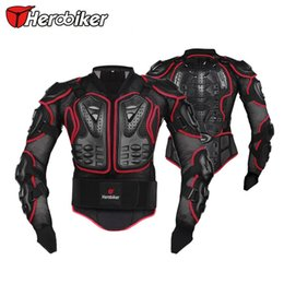 Wholesale Motocross Chest Protection - HEROBIKER Motorcycle Riding Body Protection Armor Jacket Motocross Off-Road Racing Spine Chest Protector Gear S M L XL XXL XXXL