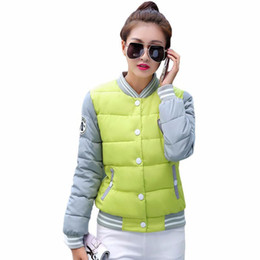 Wholesale Korea Winter Woman Jacket - 2016 New winter jacket women Korea fashion uniform warm jackets winter coat women cotton female parkas Women's winter jacket