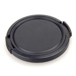 Wholesale Plastic Lens Cap - Wholesale- ETC-TextuRed Black Plastic 52mm Lens Cover Cap For Camera
