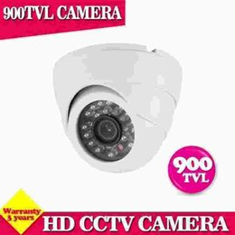 "Wholesale High Resolution Dome - 24pcs IR LED Night vision Real 900TVL 1 3"" Color CMOS High Resolution IR Indoor Dome Camera CCTV Camera"