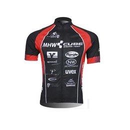 Wholesale Men S Wear China - CUBE Pro Team Rock Bicycle Wear Maillot Cycling Jersey Clothing Ropa Ciclismo MTB Bike Cycle shirt Racing china cheap sportwear C0921