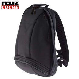 Wholesale Waterproof Motorcycle Backpacks - Good Quality Black Motocross Backpack Moto Bag Waterproof Backpack Reflective Helmet Bag Motorcycle Racing Backpacks
