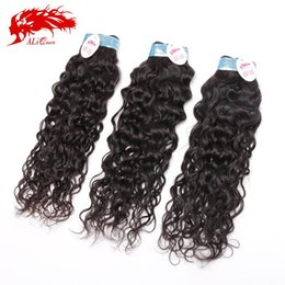 Wholesale French Weaving - Wholesale-Peruvian french curly (water wave) 3pcs lot 14-26inch unprocessed virgin peruvian french curly ocean wavy weave hair extension