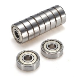 Wholesale 6mm Bearing - Wholesale- WSFS Hot 10x Ball bearing Deep groove ball 626-ZZ 6mm Industry top quality