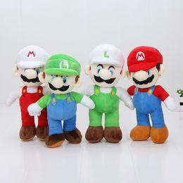 brinquedos pocoyo a atacado Desconto 10 '' New Alta Qualidade 100 pçs / lote Super Mario Bros Stand MARIO LUIGI Brinquedos De Pelúcia Boneca De Brinquedo De Pelúcia