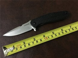 Wholesale Fiberglass Knives - Kershaw 1970 flipper folding knife 8Cr13Mov blade nylon fiberglass + steel handle camping knife hunting fruit knife pocket EDC tool