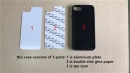 Wholesale Diy Ipad Case - Wholesale For iPad Air TPU Rubber 2D DIY Sublimation blank Case with Metal inserts and Adhensive for iPad Air case