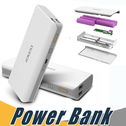 Wholesale Mobile Power Pack Iphone - Mobile Power Bank 10400mAh Portable External Backup Power Battery Charger Pack for iPhone 6 5s 4s HTC Samsung s4 s5