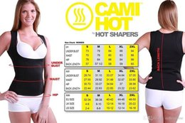 Wholesale Tummy Slimming Belts - Cami Hot Women's Hot Shapers Shirt S-2XL body shaper Weight Loss Cincher Slimming Belts Tummy Trimmer Hot 60pcs