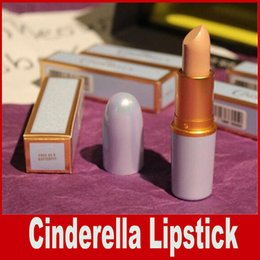 Wholesale Butterfly Makeup - Cinderella Lipstick 12colors Mixed Lips Makeup Cosmetics FREE AS A BUTTERFLY ROYAL BALL Waterproof Lipstick DHL