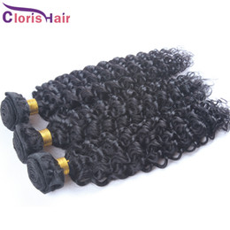 Wholesale European Hair Extentions - Great Texture Afro Kinky Curly Eurasian European Remi Hair Extentions Cheap Unprocessed Deep Curly Human Hair Weaves as Jackzhang2011
