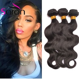 Wholesale Malaysian Loose Curl Weave Hair - Peruvian Malaysian Brazilian Virgin Hair Body Wave Straight Loose Deep Curl Kinky Curly Human Hair Weave Bundles Indian Remy Hair Extensions
