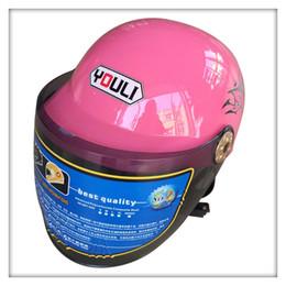 Wholesale Cover Ventilation - Summer Motorcycle Helmet Ventilation Breathable Half-covered Helmet Men and Women Fashion Bright Surface Helmet Hot Sale