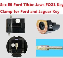 Wholesale Porsche Specials - 2017 SEC-E9 Key Cutting Machine Parts Ford Tibbe Jaws FO21 Key Clamps Special for Ford and Jaguar Key