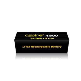 Wholesale Cheap Kangertech - Cheap Aspire 18650 ecig battery 40A 1800mah e cig battery 20A 2600mah e cigarettes batteries for kangertech ecigarette battery free shipping
