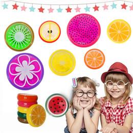 puzzles bébé jouets Promotion Nouveau bébé puzzle bricolage cristal boue jouets 8 styles Fruit boue gelée non-toxique jouets éducatifs pour enfants IA611