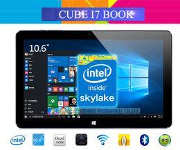 Wholesale Webcam C - Wholesale- Original Cube I7 Book Windows 10 Tablet PC 10.6'' IPS 1920x1080 Intel Core M3-6Y30(Skylake) Dual Core 4GB 64GB Camera Type C