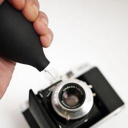 Wholesale Mouth Camera - Wholesale- Mini Air Blower Dust Cleaner cleaning bule mouth for all Digital Camera Lens 5D2 5D3 60D D90 X10 X20 X100D3200 D5300 D5100 D7000