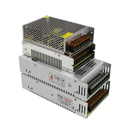 Wholesale Power Supply Module Ac Dc - High Quality DC 12V Led Transformer 70W 120W 180W 200W 240W 300W 360W 400W Power Supply For Led Strips Led Modules AC 100-240V