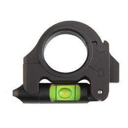 Anelli tattici di campo online-Tactical Ottica Portata del Fucile Bolla Livello 1 Pollice 30 MM Anello Pieghevole per Vista dall'alto o laterale Accessori di Caccia RL37-0033