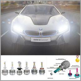 Wholesale H7 Led Headlight Cree - High brightness 3000LM Long life H7 LED Headlight Smart heatsink design Cree LED Car Light source H7 LED Headlights