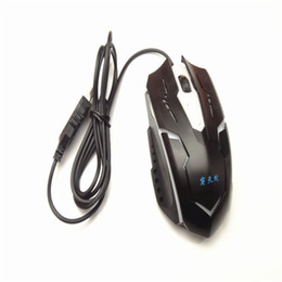 Wholesale Lol Brand - Brand 2.4G 1600dpi 6Keys USB Gaming Mouse Professional Gaming LOL Mouse Optical Wired Mouse Mice For Laptop PC dota 2 Games New