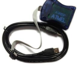 Wholesale Programmer Avr - Free Shipping 1Pcs Lot AVR ISP AVRISP Atmel STK500 AVR Programmer USB Atmaga Attiny L3G4200D ADXL345 HMC5883L BMP085