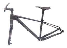 Wholesale Carbon Bike Frame Chinese - FCFB bicycle 29er carbon 3K frame Chinese MTB frame 15.5 17 19inch carbon mountain bike disc carbon mtb frame BSA