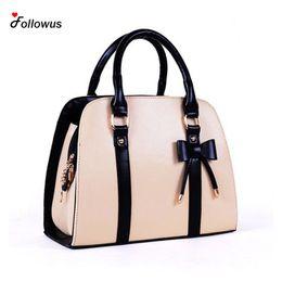 Wholesale Tote Bag Designer Celebrities - Wholesale- 2016 Hot Sale Summer Ladies PU Leather Handbag New Tote Designer Style Celebrity Shoulder Bag For Ladies Solid Women Handbags