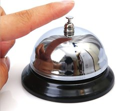 Wholesale Calling Bell - Restaurant Hotel Kitchen Service Bell Ring Reception Desk Call Ringer DHL Fedex Free Shipping LLFA