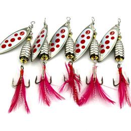 8cm señuelos Rebajas Colorido Metal Paillette pesca Wobbler señuelo de la pesca dura 8cm / 13g Crankbait gancho cebo artificial señuelos aparejos de pesca