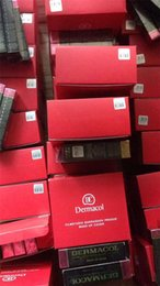 Wholesale Dhl Box Size - With big red box The best quality 13 colors Dermacol Base Make up 45g pcs fast free dhl