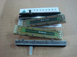 Wholesale Fader Mixer - Wholesale- [BELLA]8.8 cm double mixer fader potentiometer B10K [ External moldings ]--10PCS LOT